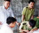 Hà Tĩnh: Đột kích cơ sở sản xuất giò dùng hàn the tẩm ướp