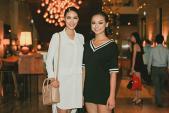 Lan Khuê, Mai Ngô cùng nhau tập catwalk chuẩn bị diễn Elle Show