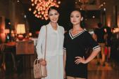 Lan Khuê, Mai Ngô diện áo giấu quần tập catwalk