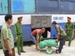 Thanh Hóa: Bắt xe khách vận chuyển nội tạng, bì lợn thối đi tiêu thụ