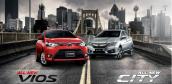 Với khoảng 600 triệu, nên mua Toyota Vios hay Honda City?