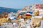 Chu du Hi Lạp và khám phá những ngôi nhà nấm ở Santorini