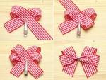Hướng dẫn cách làm nơ bằng ruy băng cực xinh cho các bạn gái