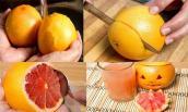 Cách tạo lồng đèn Halloween đơn giản từ trái cây