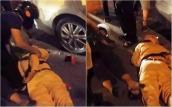 Truy đuổi 2 thanh niên vi phạm giao thông, 2 cảnh sát ngã ra đường bất tỉnh
