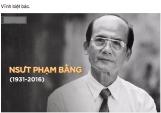 Tang lễ NSUT Phạm Bằng sẽ diễn ra vào ngày 4/11