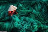 Ảnh đan lưới ở Phan Rang giành giải nhất ảnh quốc tế Siena