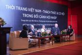 """Tọa đàm """"Thời trang Việt Nam – thách thức và cơ hội trong bối cảnh hội nhập"""""""