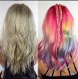 Xu hướng tóc Lisa Frank gây bão Instagram