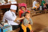 Năm 2017, trẻ em được tiêm vắc xin Sởi rubella miễn phí