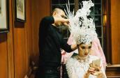 Ngọc Quyên diện váy xuyên thấu diễn thời trang ở Mỹ