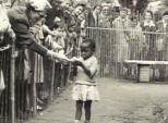 Bức ảnh bé gái châu Phi đứng trong chuồng: Câu chuyện đau lòng về những vườn thú người tại châu Âu