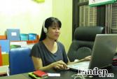 Hạnh phúc giản dị của cô giáo khiếm thị giỏi tiếng Anh