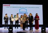Lock&Lock nhận giải thưởng Top 10 sản phẩm, dịch vụ tin & dùng năm 2016.