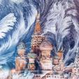 Thủ đô nước Nga đẹp như thế giới cổ tích trong mùa đông