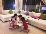 Công Vinh đón sinh nhật ấm cúng cùng Thủy Tiên và con gái sau giải nghệ