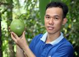 """Ngắm những trái dừa tạo hình """"siêu cải tiến"""" ở miền Tây"""
