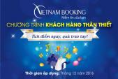 Tích điểm cùng Việt Nam Booking: Rinh quà khủng, bay vui hơn!.