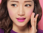 Cách trang điểm má hồng bằng son môi cực xinh cực kute