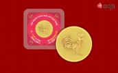 Vật phẩm hình gà bằng vàng gây sốt thị trường Tết Đinh Dậu