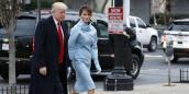 Melania Trump mặc giống Jackie Kennedy ngày chồng nhậm chức