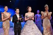 Trước khi thiết kế váy cho tân HHHV, Hoàng Hải vốn đã là NTK của mọi Hoa hậu Việt