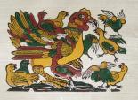 Năm Đinh Dậu: Hình tượng gà trong tranh dân gian Đông Hồ