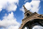 Lắp tường kính chống đạn cho tháp Eiffel