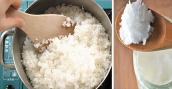 Giảm cân bằng cách nấu cơm mới lạ với dầu dừa