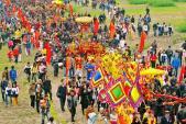 Khai hội Tản Viên Sơn Thánh, khai trương du lịch Ba Vì năm 2017