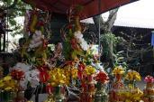 Trầm trồ những mâm lễ đẹp và cầu kỳ nhất trong đêm khai ấn đền Trần