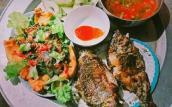 Mâm cơm tối 25 ngàn đồng vẫn đủ cá, rau, đậucủa vợ chồng trẻ sốt mạng xã hội
