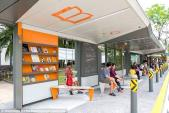 Trạm dừng xe buýt công nghệ cao ở Singapore