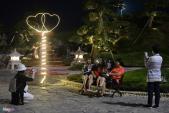 Khóa tình yêu Hàn Quốc, vườn Nhật Bản xuất hiện ở Hạ Long