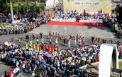 Hàng nghìn người dự lễ hội đường phố ở Buôn Ma Thuột