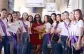 Top 17 Hoa khôi Du lịch đón ca sĩ Shontelle đến Việt Nam