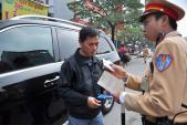 Các hành vi bị xử phạt nặng nhất đối với người điều khiển ô tô