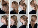 Những kiểu tóc buộc trong vòng vài phút đẹp và dễ làm đến ngạc nhiên