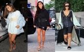 Chị em nhà Kendall Jenner cuồng mốt corset
