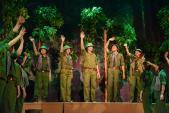 Sân khấu Trịnh Kim Chi chào mừng ngày thành lập Đoàn 26/3