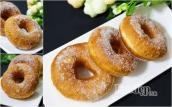 Bánh donut bọc đường dễ làm tại nhà