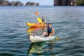 Dừng hoạt động chèo kayak trên vịnh Hạ Long từ ngày 1/4/2017