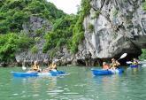 Đề nghị tiếp tục cung cấp dịch vụ chèo thuyền kayak trên vịnh Hạ Long