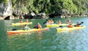 Vì sao mở lại dịch vụ kayak trên vịnh Hạ Long?