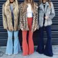 Sự trở lại ngoạn mục của quần jean ống loe khiến phái đẹp
