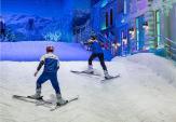 Khu trượt tuyết độc đáo cho giới trẻ Sài thành dịp lễ