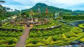 Vẻ đẹp vườn thực vật Nong Nooch ở Thái Lan