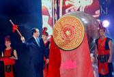 Chủ tịch nước đánh trống khai hội du lịch Cửa Lò năm 2017