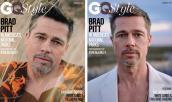 Tài tử Brad Pitt già nua trên bìa tạp chí
