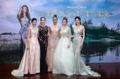 Dàn hoa hậu nổi bật trong đêm thời trang